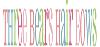 Three Bears Hair Bows logo