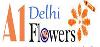 A1 Delhi Flowers logo