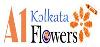 A1 Kolkata Flowers logo