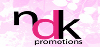 NDK Promotions UK logo