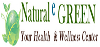 Natural e GREEN logo