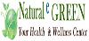 Natural e GREEN logo