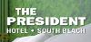 President Hotel logo